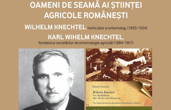 """Wilhelm Knechtel, șef al grădinilor regale în vremea Regelui Carol I, omagiat la Casa de Cultură """"Friedrich Schiller"""""""